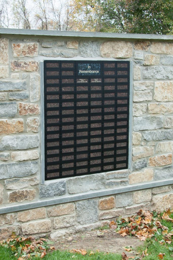 Memorial Wall System